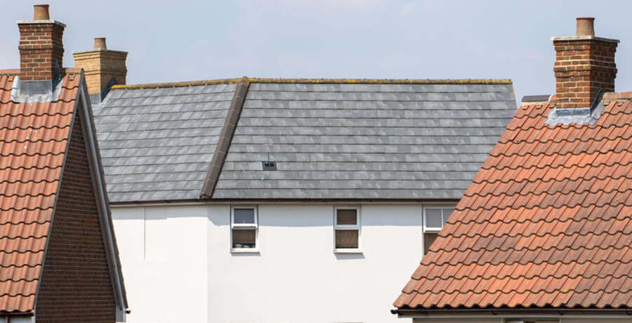 pitched roof installation
